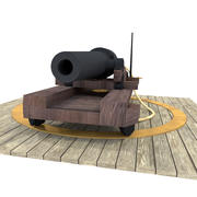 Papegaai Geweer 3d model