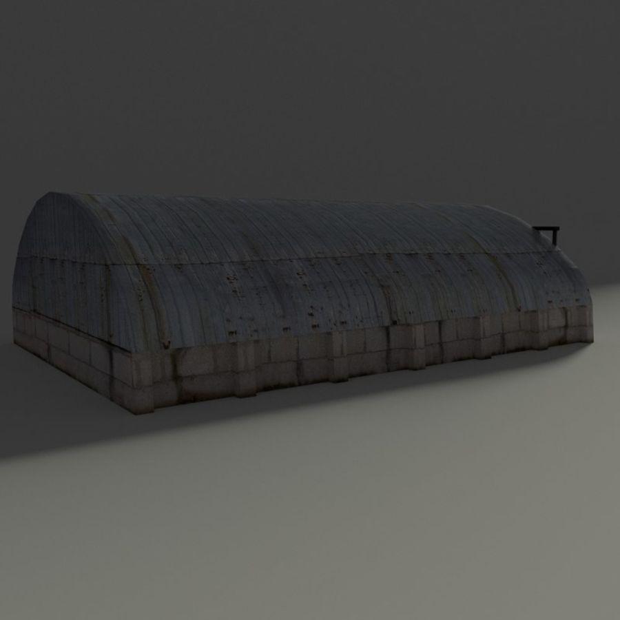 Hangar royalty-free 3d model - Preview no. 4