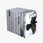 Vita böcker 3d model