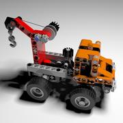 LEGO TECHNIC Mobile Crane 3d model