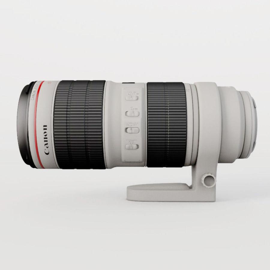 佳能长焦镜头70-200 royalty-free 3d model - Preview no. 1
