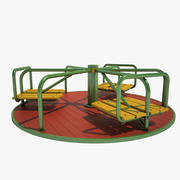 Carrossel infantil 02 3d model
