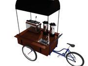 咖啡车 3d model