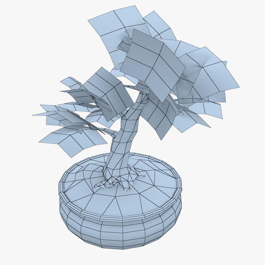 Bonsai Baum royalty-free 3d model - Preview no. 7