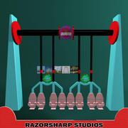 Carnival Ride Super Swing 3d model
