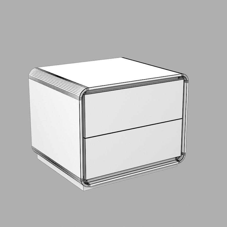 Veneran Groe slaapkamer nachtkastje royalty-free 3d model - Preview no. 4