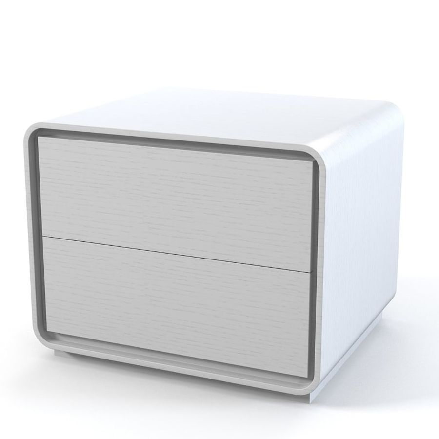 Veneran Groe Comodino da camera da letto royalty-free 3d model - Preview no. 1