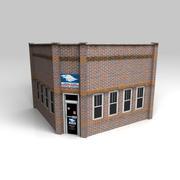郵便局 3d model
