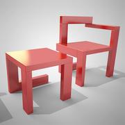 Nowoczesne krzesła 3d model