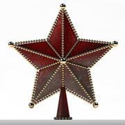 Ornaments Star Treetop 3d model
