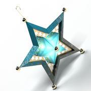 장식품 스타 3d model