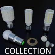 Glödlampor Samling 3d model