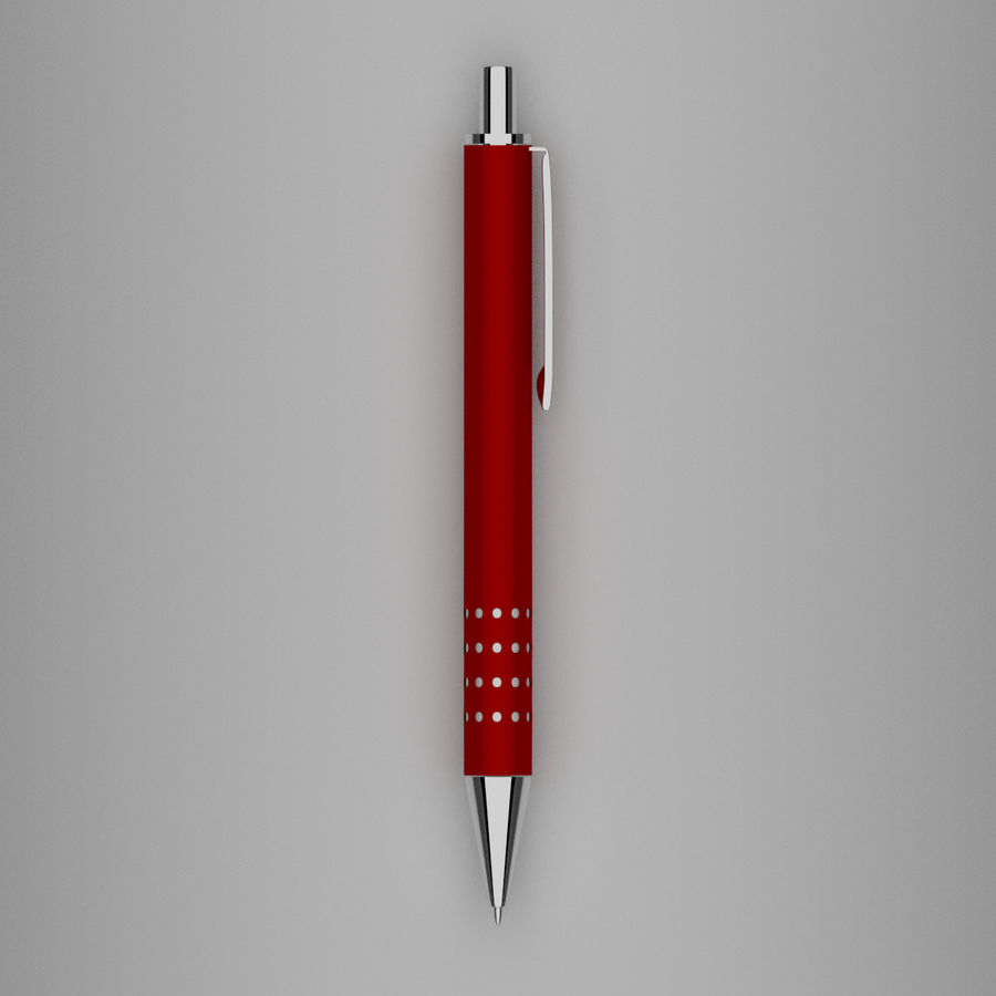Pens Collection royalty-free 3d model - Preview no. 25