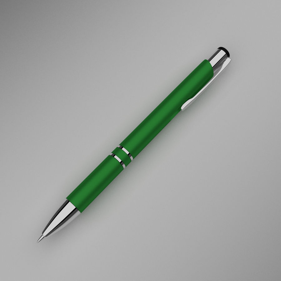 Pens Collection royalty-free 3d model - Preview no. 17
