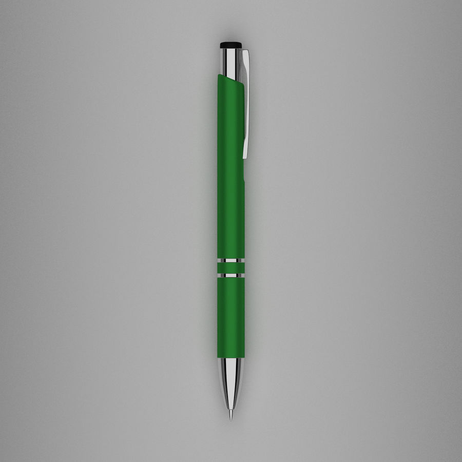 Pens Collection royalty-free 3d model - Preview no. 19