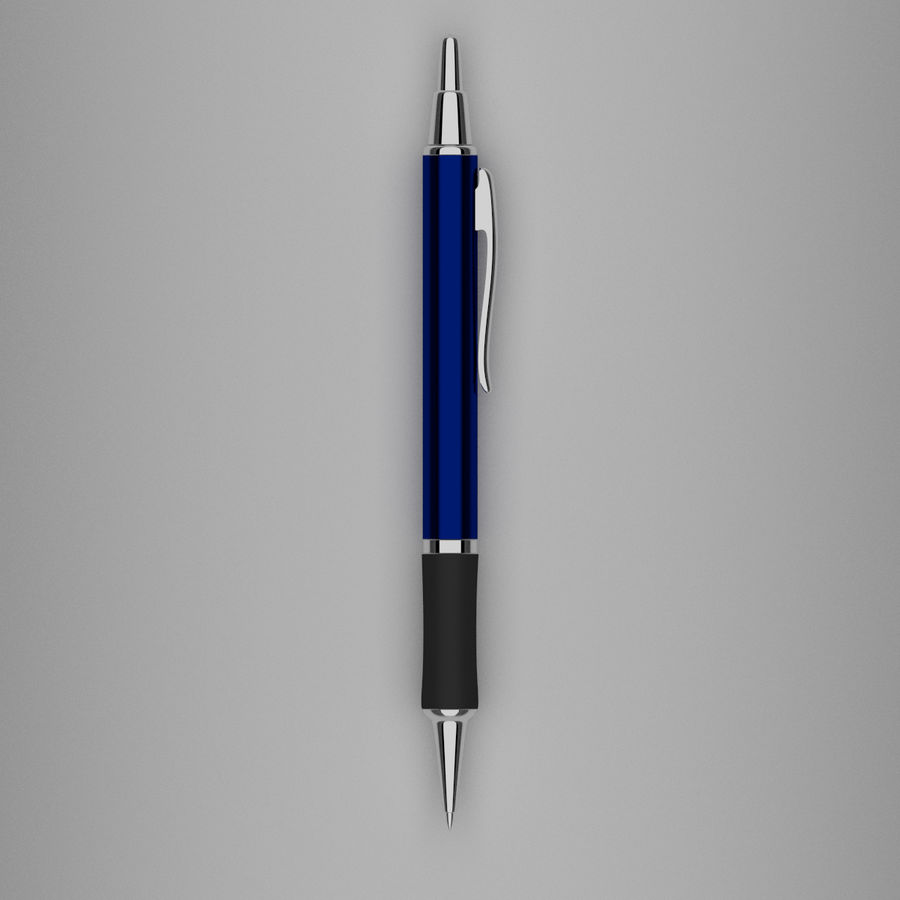 Pens Collection royalty-free 3d model - Preview no. 13