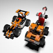 LEGO Technic 2in1 3d model