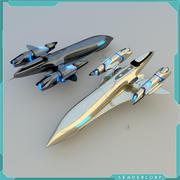 Cruzador 3d model