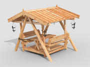 arbour 3d model