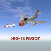 MiG-15 Fagot 3d model