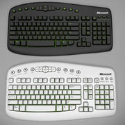 Keyboard PC 3d model