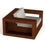 garden f1-chair 3d model