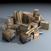 Warehouse Clutter 3d model