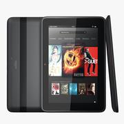Kindle Fire HD 8.9 3d model