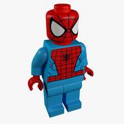 Lego Hero 3d model
