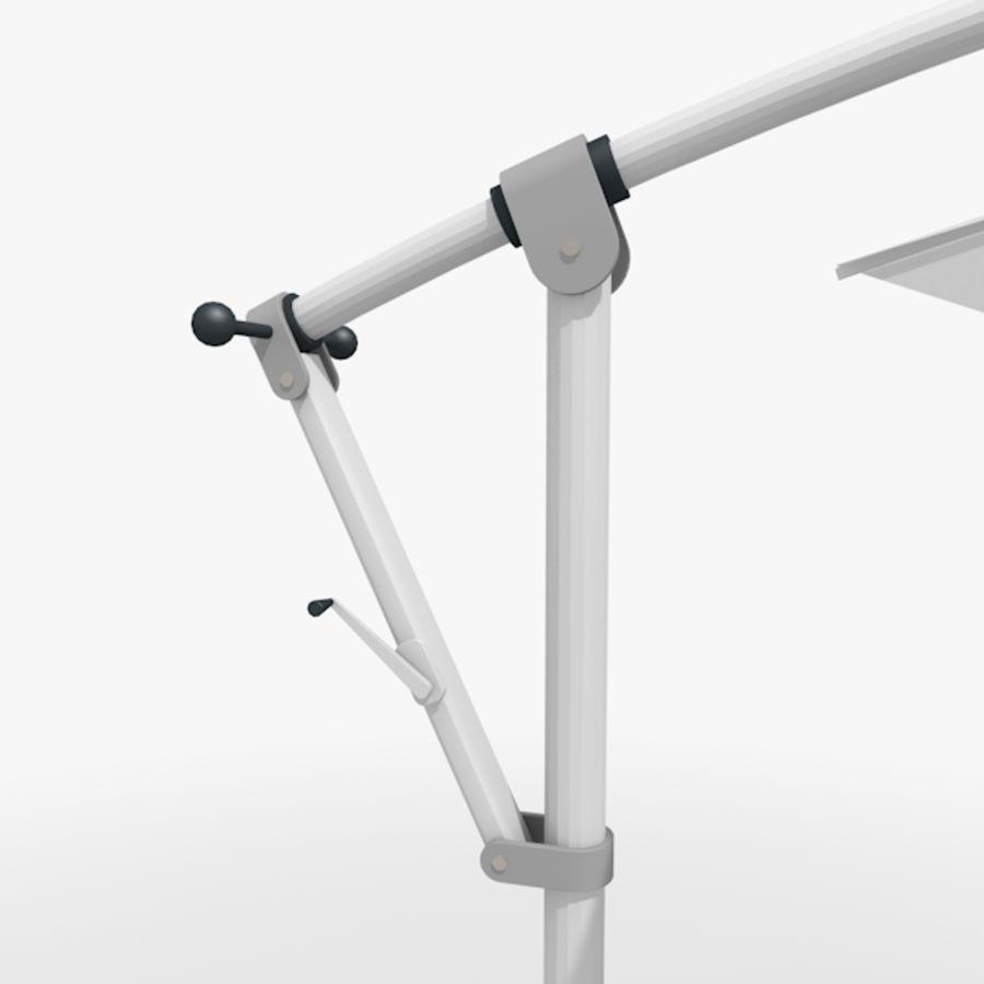 Zonnescherm 01 royalty-free 3d model - Preview no. 4