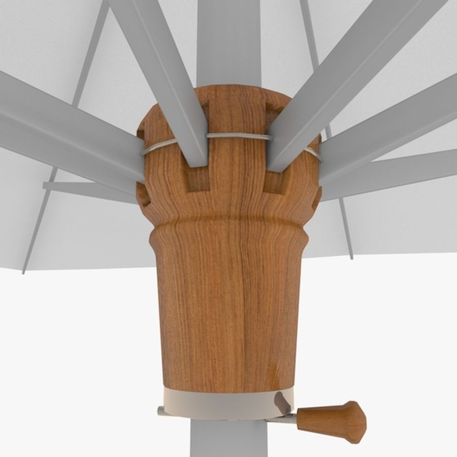 Zonnescherm 02 royalty-free 3d model - Preview no. 4
