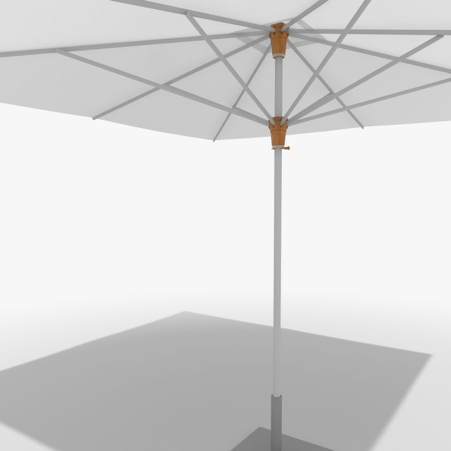 Zonnescherm 02 royalty-free 3d model - Preview no. 5