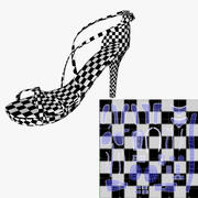Ladies-Shoe 3d model