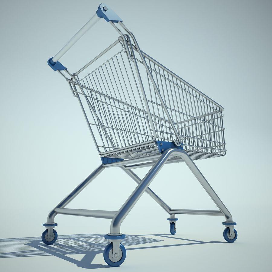 Supermercado de carrinho 01 royalty-free 3d model - Preview no. 6