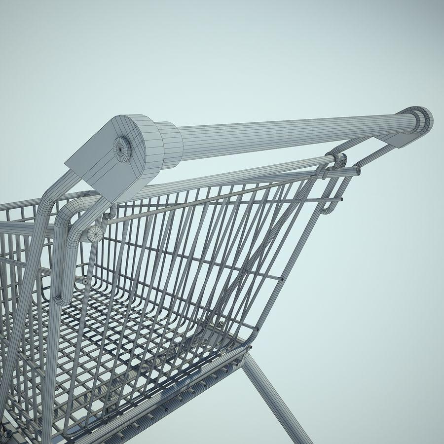 Supermercado de carrinho 01 royalty-free 3d model - Preview no. 13