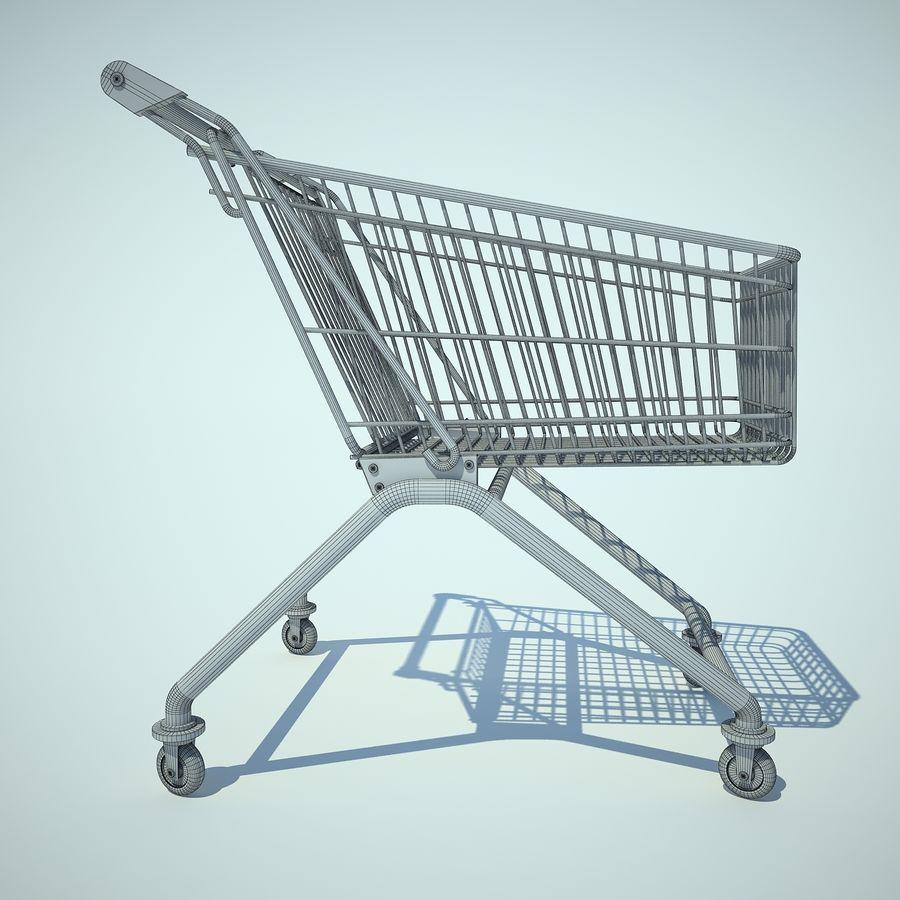 Supermercado de carrinho 01 royalty-free 3d model - Preview no. 5