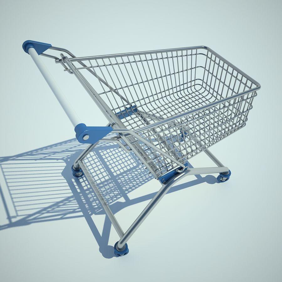 Supermercado de carrinho 01 royalty-free 3d model - Preview no. 8