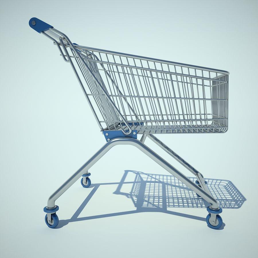 Supermercado de carrinho 01 royalty-free 3d model - Preview no. 4