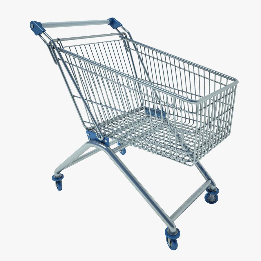 Supermercado de carrinho 01 royalty-free 3d model - Preview no. 1
