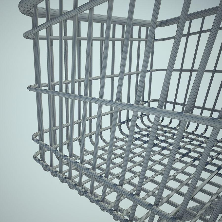 Supermercado de carrinho 01 royalty-free 3d model - Preview no. 14
