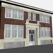 Edifício de escritórios de Litlle 3d model