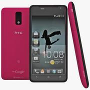 HTC J Red 3d model