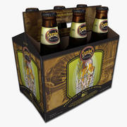 Six Pack of Founders Beer 3d model