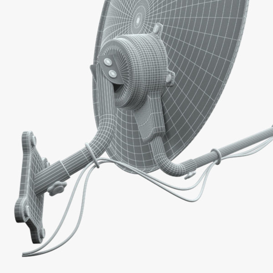 Satellite Dish royalty-free 3d model - Preview no. 9