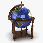 Globe świata 3d model