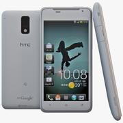 HTC J White 3d model