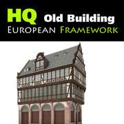 European Framework Building 3d model