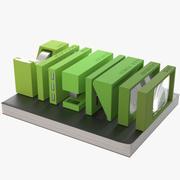 Fournitures de bureau Lexon Buro 3d model
