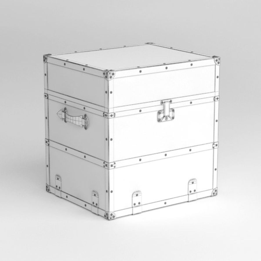 Trunk royalty-free 3d model - Preview no. 7