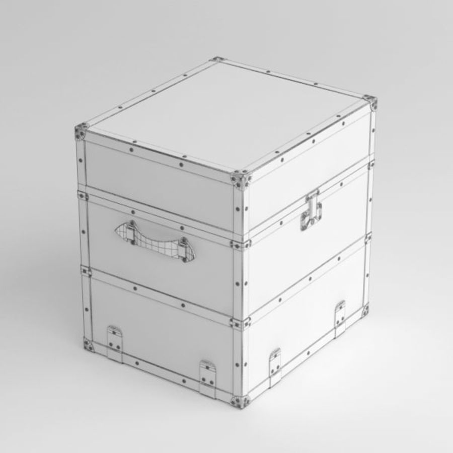 Trunk royalty-free 3d model - Preview no. 9